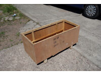 Wooden planter box 39 inches long storage DELIVERY AVAILABLE TO LOCALAREA