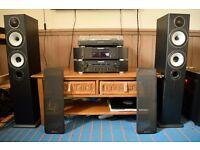 Marantz 6005 separates w/ Monitor Audio bronze bx speakers