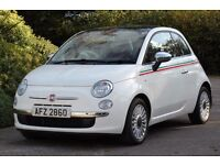 *Beautiful*2009 Fiat 500 1.4 Lounge, FSH, Full Leather Interior, Panoramic Roof