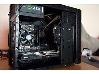 i5-4440S,8GB RAM, MSI GTX 750Ti , 1TB HDD, Corsair CX430 PSU,Win 10