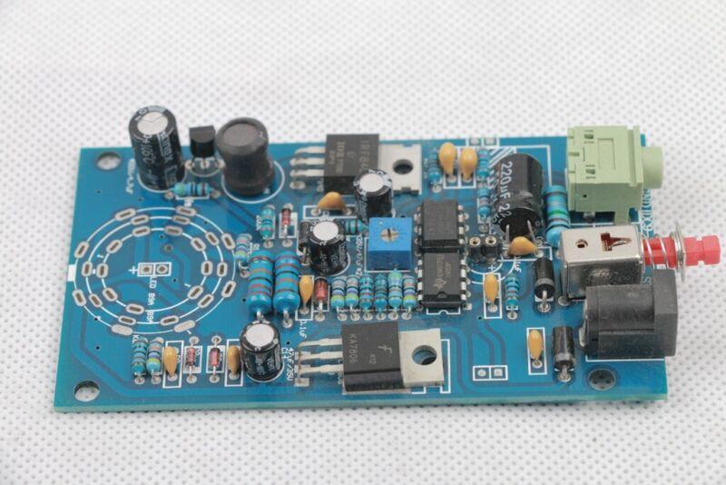 Magic eye VU meter Indicator tube PCB assembled without tube and socket 2019
