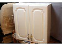 Two Bathroom Storage Cabinets