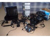 Playstation 2 bundle including slimline console, attachable screen, carry case. Stratford-upon-Avon