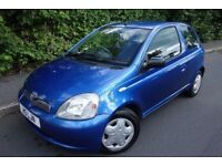 2002 TOYOTA YARIS 1.3 AUTOMATIC, LADY OWNER, EXCELLENT CONDITION, HPI CLEAR
