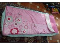 Junior Ready Bed (pink/light blue)