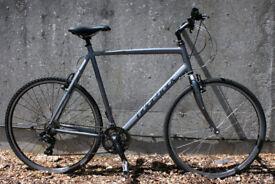Ridgeback Velocity Hybrid Town Bike XL 23 Inch Fully Serviced