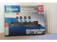 Swann Pro Series 960H 8 Channel 1 TB HDD with 4 cameras HDMI DVD quality CCTV