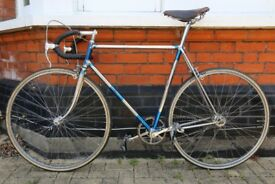 "Carlton Constellation 1961 Lightweight Vintage Collector Road Bicycle Chrome 23"" Racing Bike"