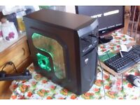 New Gaming PC Quad Core A8-7650K 8GB RAM 500GB Radeon R7 Graphics Windows 10