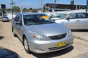 2003 Toyota Camry Sedan Five Dock Canada Bay Area Preview