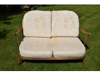 Vintage 2 seater Ercol sofa