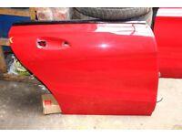 MERCEDES AMG CLA C117 DRIVER SIDE REAR OS DOOR JUPITER RED 589