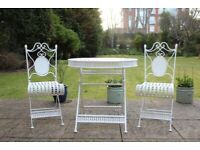 Patio/Balcony Table And Chair Set