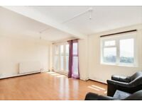 SPACIOUS 2 bed property with wood flooring throughout. close to transport links! private balcony.