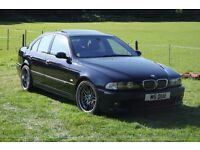 BMW E39 M5 Carbon Black, Black Heritage Leather, Double Glazing, Sat Nav, 12 Months MOT