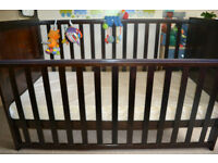 IKEA Cot bed comes with matress