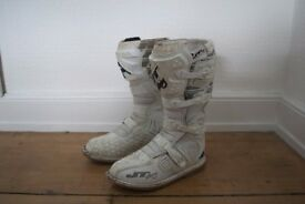 JT Racing Motocross MX Boots size 44 / 10.5