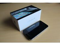 Apple iPhone 4 - 16GB - Unlocked From Network - Black - Excellent Condition - With Box + Cables