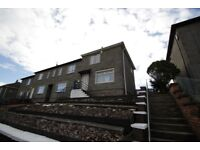 TWO BEDROOM HOUSE TO RENT - KIRKMUIRHILL + LARGE GARDENS
