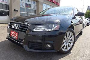 2012 Audi A4 2.0T Quattro, LED, No Accients