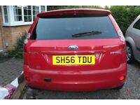 FORD FIESTA ZETEC FOR PARTS