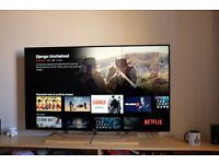 Sony 55 inches 3D fullHD with Freeview HD and Smart TV (kdl 55W829b model)