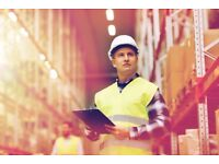Free training as a warehouse operative with a guaranteed job interview