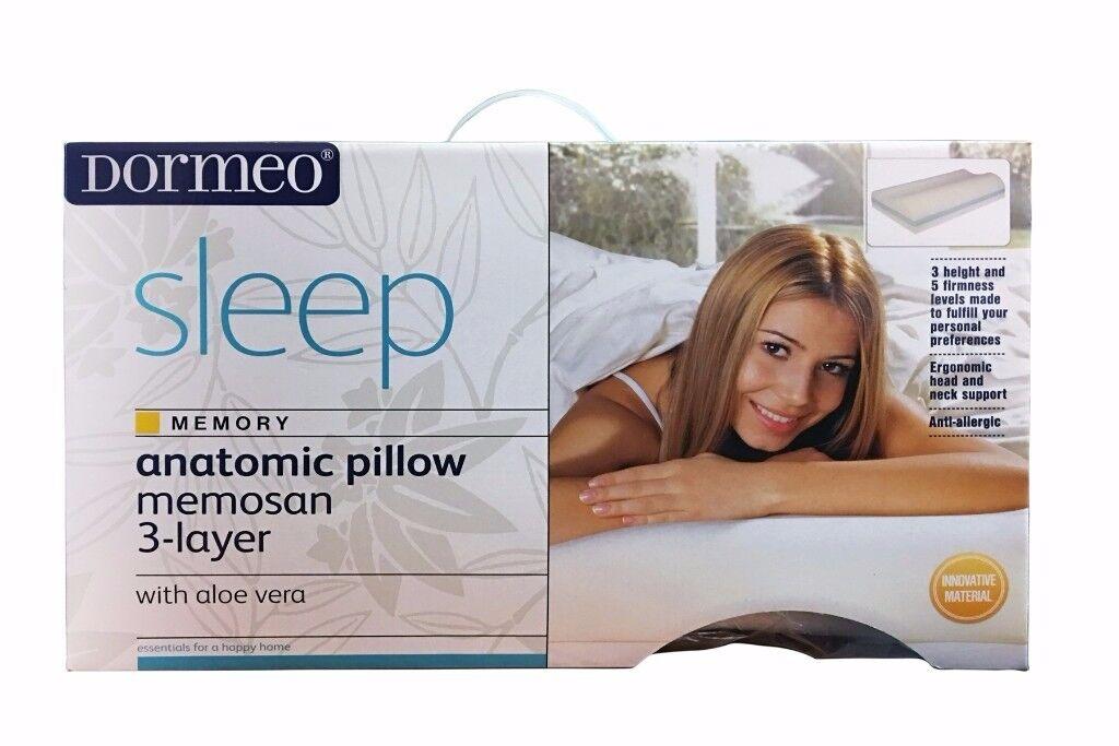 Dormeo Anatomic Memosan Memory Foam Pillow 3 Layer