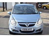 2007 PLATE VAUXHALL CORSA LIFE 1.0 PETROL,3 MONTHS WARRANTY,NEW MOT,NEW HEDGES KIT&TIMING CHAIN KIT