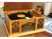 Stereo System - Vinyl CD Radio Tape