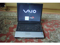 SONY VAIO BX195SP LAPTOP WORKING FOR SPARES
