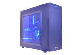 High Powered Desktop Gaming PC-Windows 10, Intel Core i7-6700k 4Ghz, 32MB DDR4 RAM, Radeon RX470 GPU