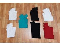 7 x Kids Childs base layers assorted colours - excellent condition