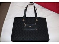 """Knomo Quilted Expandable 15"""" Laptop handbag"""