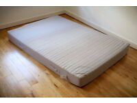Double bed mattress, removable cover - IKEA SULTAN