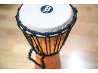 Rope Tuned Wood Djembe