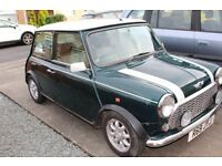 Classic mini cooper 1998 British Racing Green