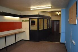 Commercial premises for rent/sale. £300 pcm