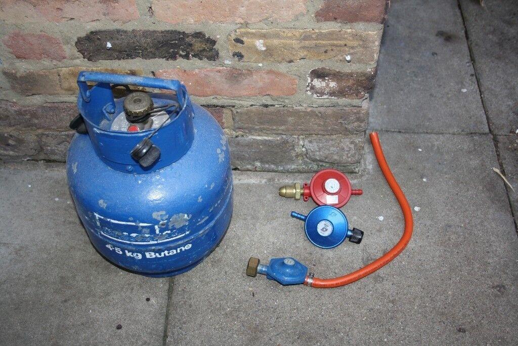 calor gas bottle with regulators