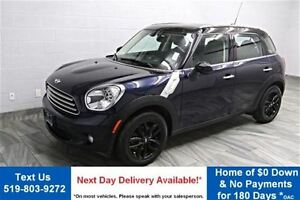 2014 MINI Cooper Countryman LEATHER! PANO ROOF! PADDLE SHIFTERS!