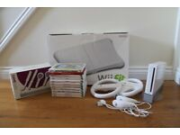 White Nintendo Wii Console + Games and Accessories