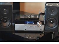 SONY CMT-MX750NI DAB RADIO/CD/WIFI/USB/IPODDOCK/REMOTE/DAB ANTENNA