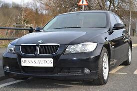2005 BMW 3 SERIES 320d ES MANUAL 2.0d, DIESEL BLACK 5 DOOR SALOON FSH 160BHP