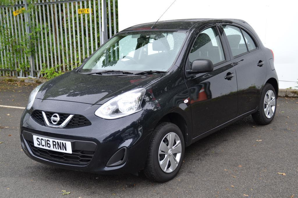 nissan micra visia black 2016 05 16 in motherwell north lanarkshire gumtree. Black Bedroom Furniture Sets. Home Design Ideas