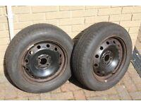 5 Tyres - All good Tread - 1 Brand new 185 x 65 x 15