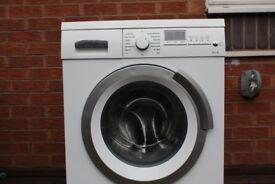 SIEMENS 8kg WASHING MACHINE 1200 SPIN IN GOOD CLEAN WORKING ORDER 3 MONTH WARRANTY AND PAT TESTED