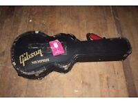 Vintage Gibson Memphis Guitar Hard Case