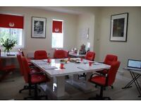 Meeting rooms available. Central location. All amenities. Flexible terms
