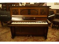 German quality upright piano by Bieling. Tuned and UK delivery available