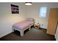 Bedroom with en-suite to Rent in Worksop Bedrooms available to let